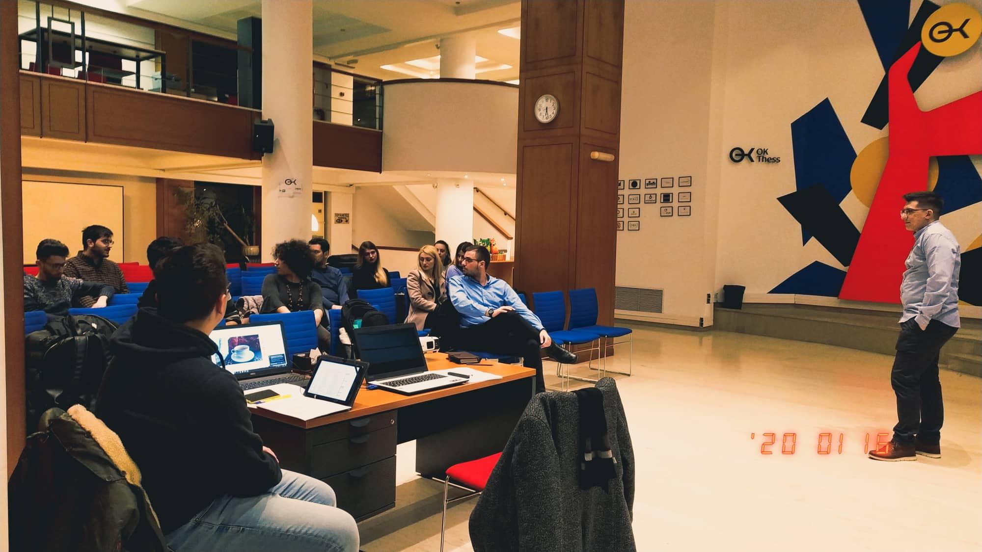 Πραγματοποιήθηκε με επιτυχία το 1ο workshop του Δημοτικού Συμβουλίου Νέων Θεσσαλονίκης