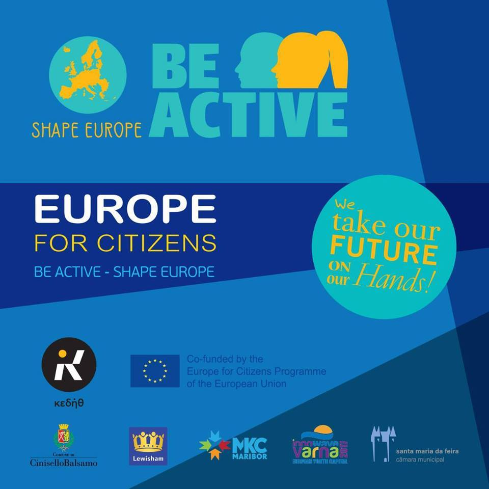 Be Active- Shape Europe Project: Thessaloniki 4-day Conference: JOIN US!