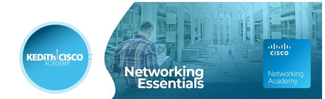 """Invitation for expression of interest for participation in the free training program of KEDITH Cisco Academy """"Networking Essentials"""""""